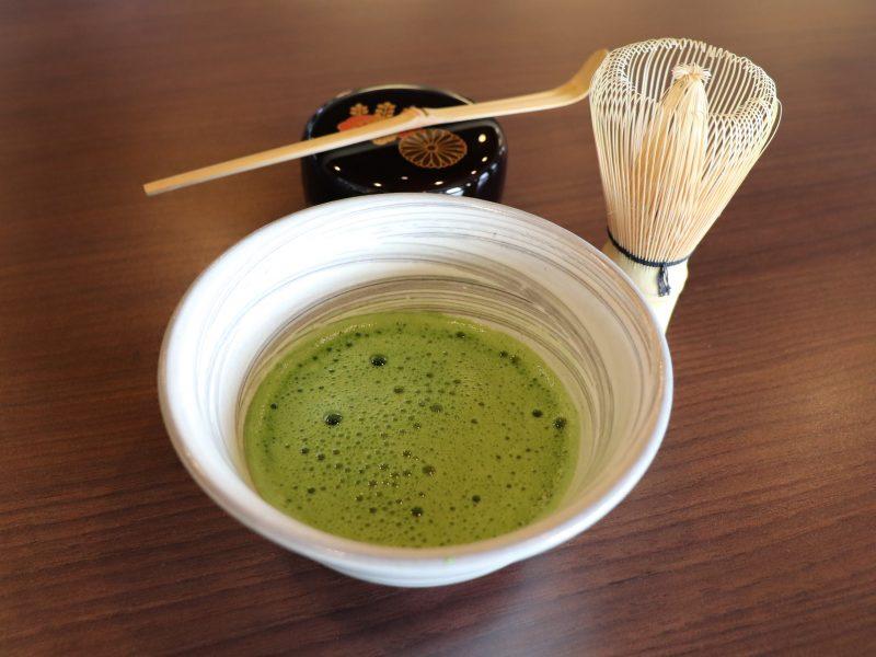 【日本茶ラウンジ】富士山を眺めながらお抹茶体験はいかがでしょうか?
