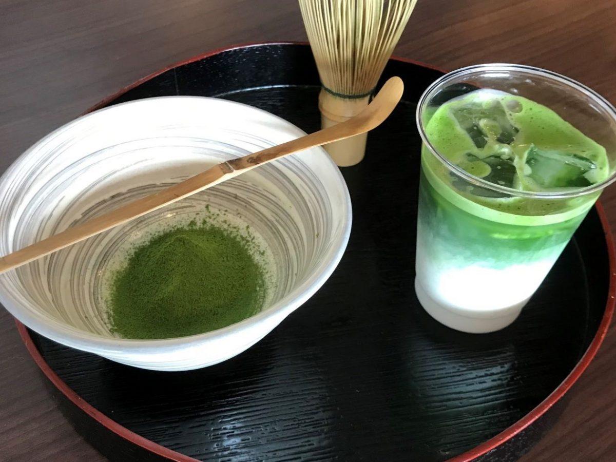 【日本茶ラウンジ】 親子で抹茶点てラッテ