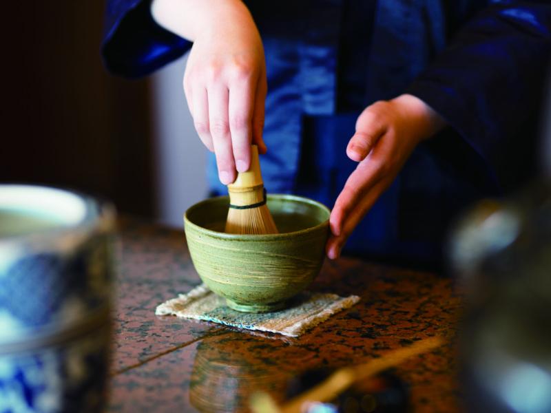 【うぶやお茶会】癒しの抹茶ラテ